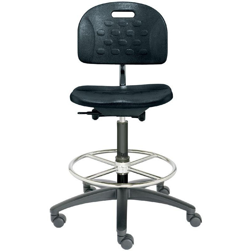 Dauphin Chairs Tec Line Polyurethane Medium Height Stool